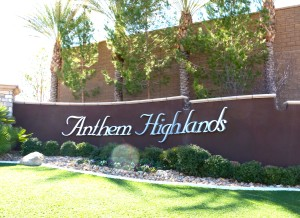 Anthem Highlands Homes For Sale